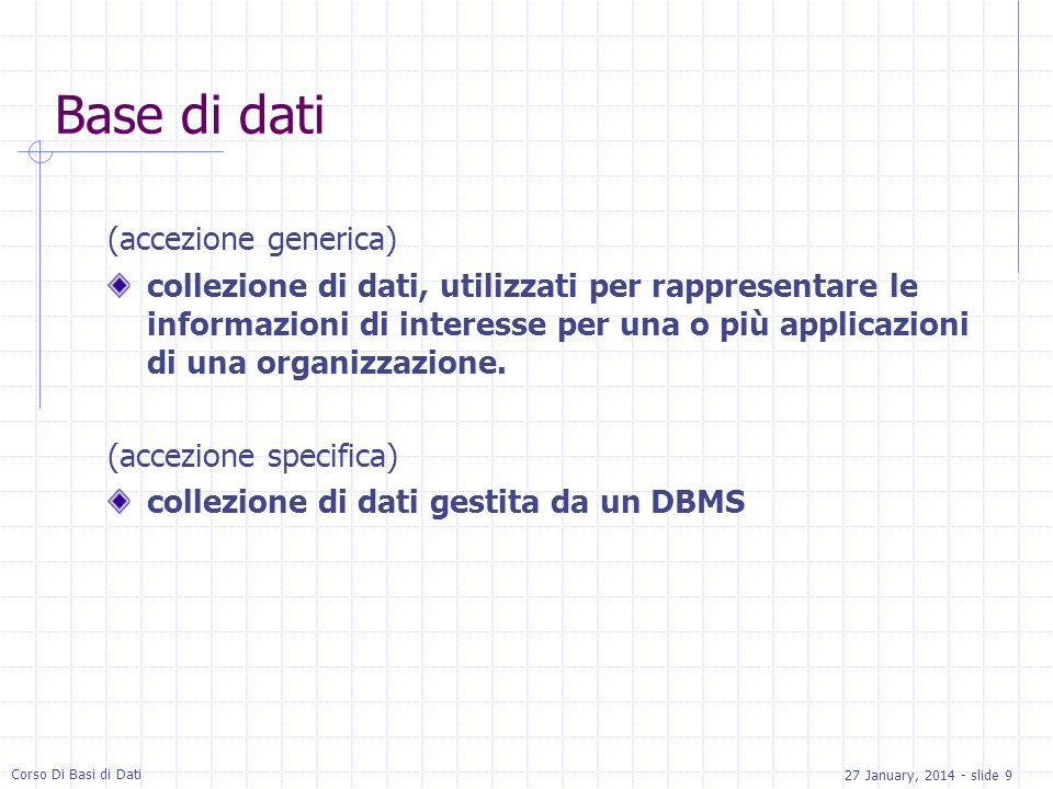 Base di dati (accezione generica)