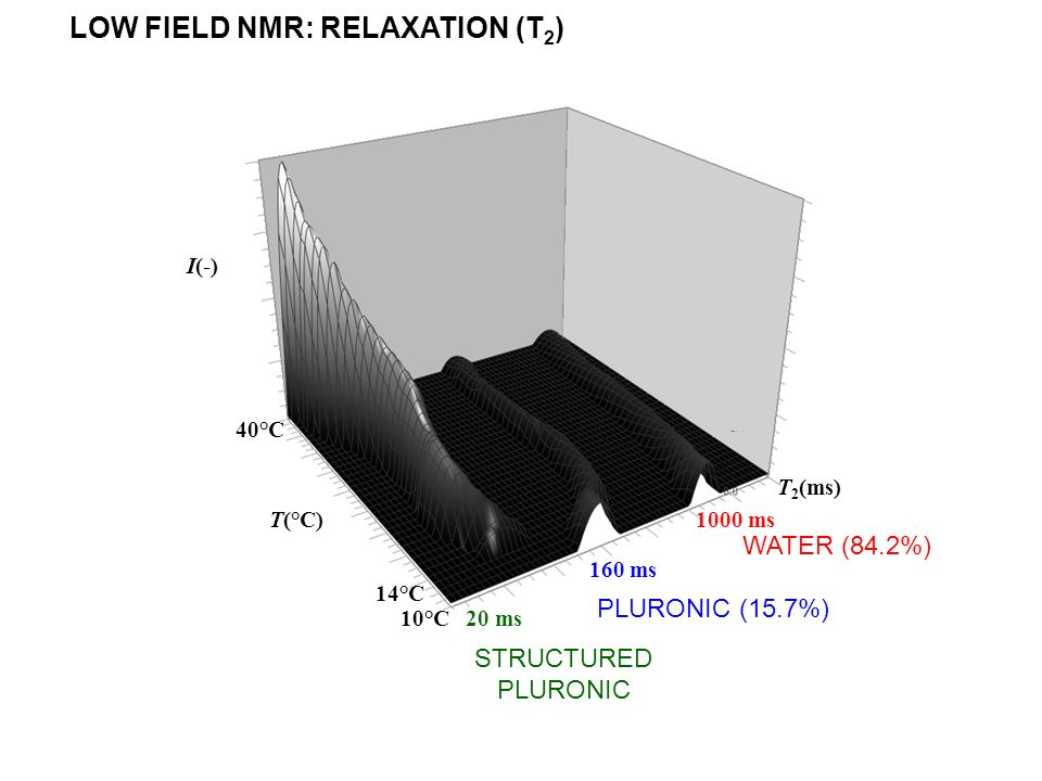 LOW FIELD NMR: RELAXATION (T2)