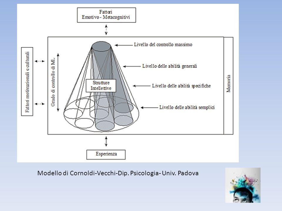 Modello di Cornoldi-Vecchi-Dip. Psicologia- Univ. Padova