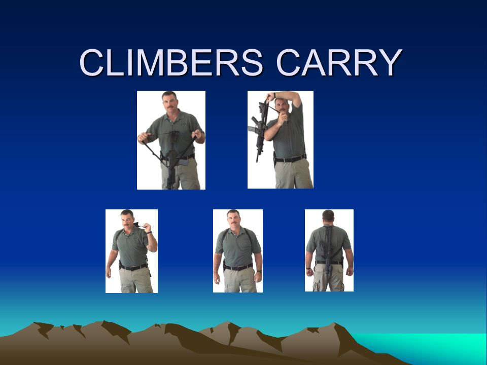 CLIMBERS CARRY