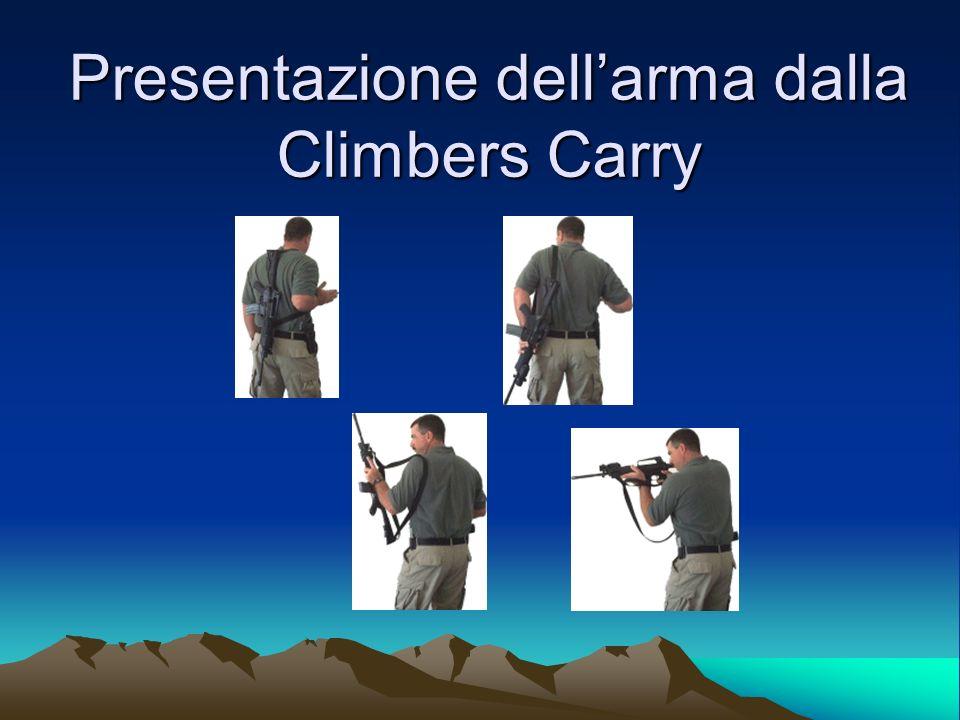 Presentazione dell'arma dalla Climbers Carry