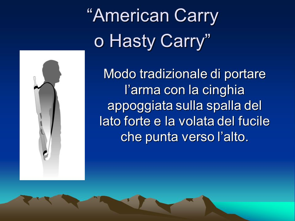 American Carry o Hasty Carry
