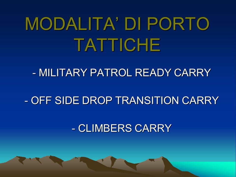 MODALITA' DI PORTO TATTICHE