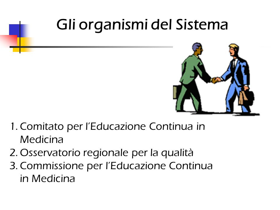 Gli organismi del Sistema