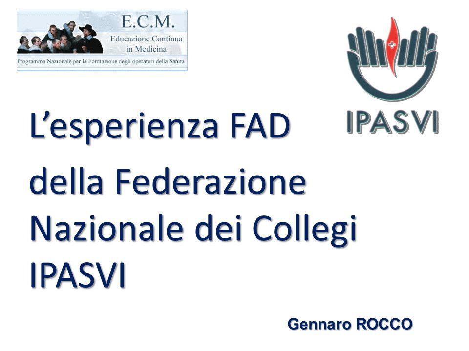della Federazione Nazionale dei Collegi IPASVI