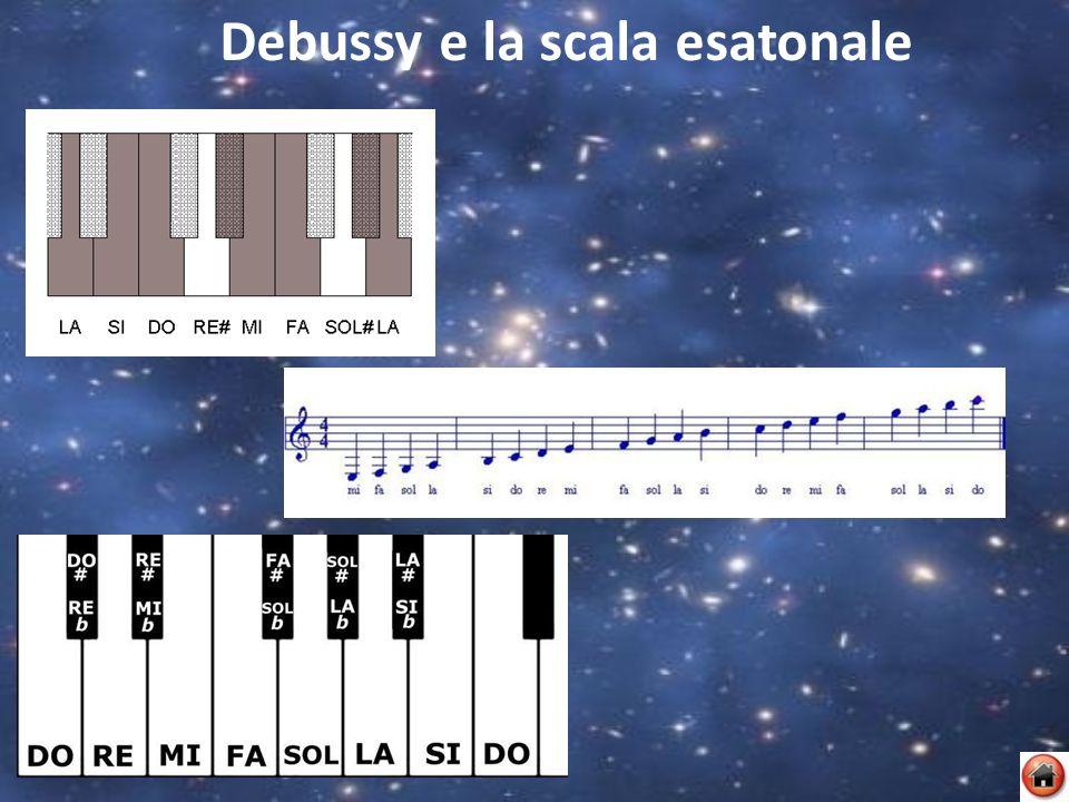 Debussy e la scala esatonale