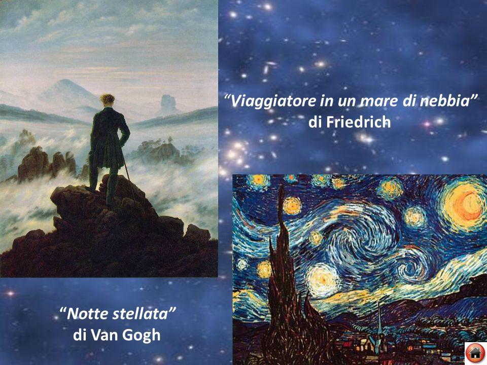 Viaggiatore in un mare di nebbia di Friedrich