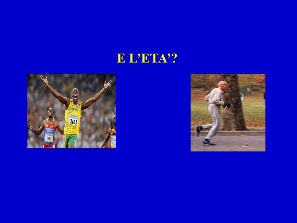 E L'ETA'