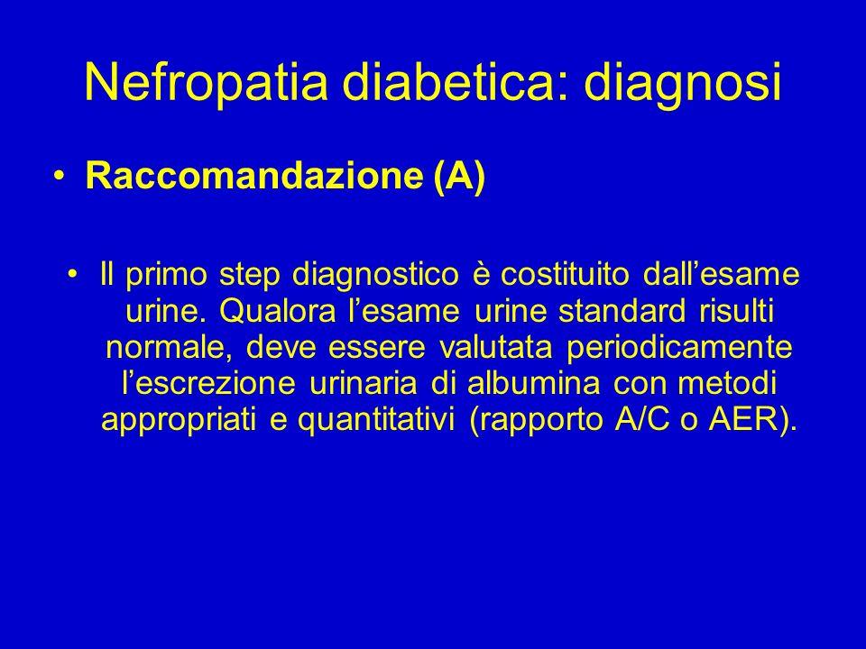 La nefropatia diabetica SOC Nefrologia ed Emodialisi - ppt