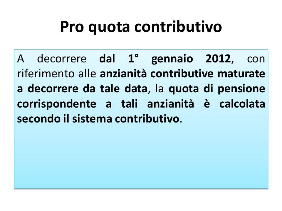 Pro quota contributivo