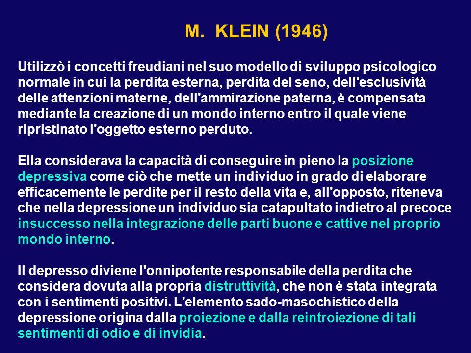 S. FREUD LUTTO E MELANCONIA (1915)