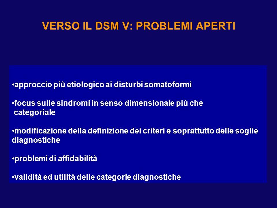DMS IV: considerazioni critiche sui disturbi somatoformi (2)