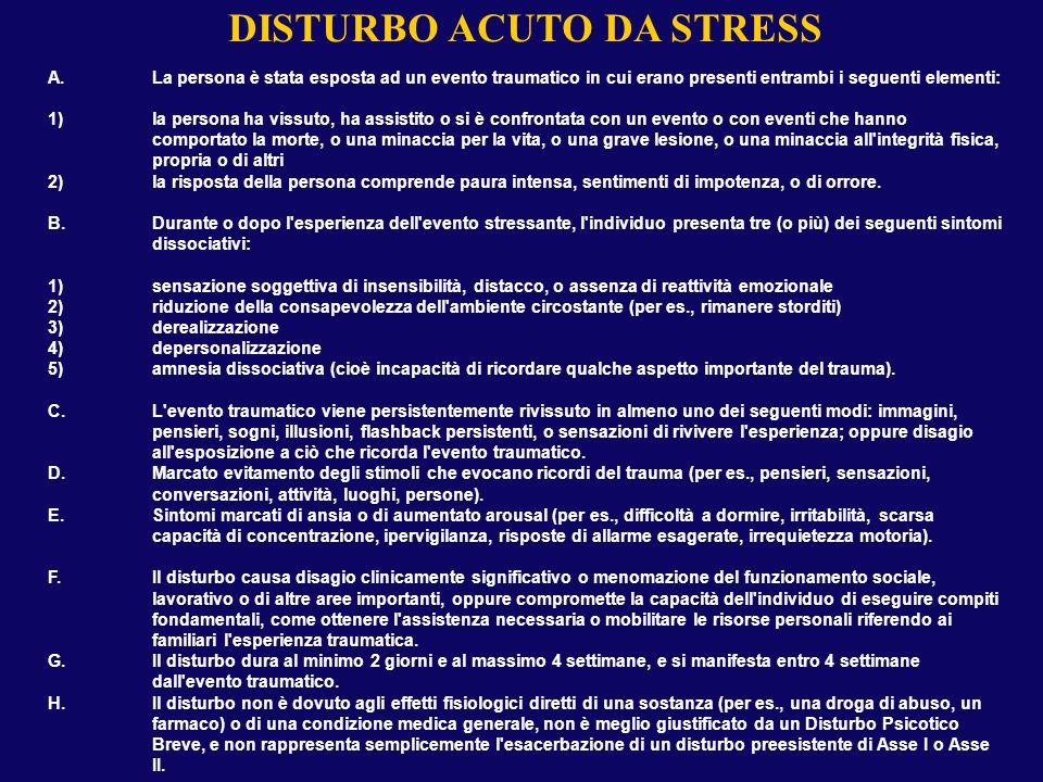 DISTURBO POST-TRAUMATICO DA STRESS 2