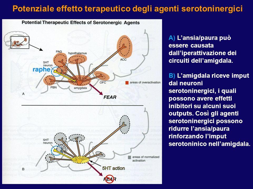 Potenziale effetto terapeutico degli agenti GABA-ergici