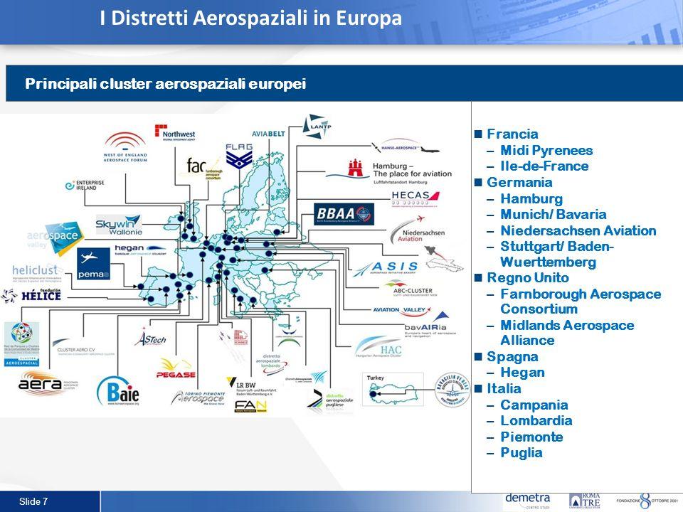 I Distretti Aerospaziali in Europa