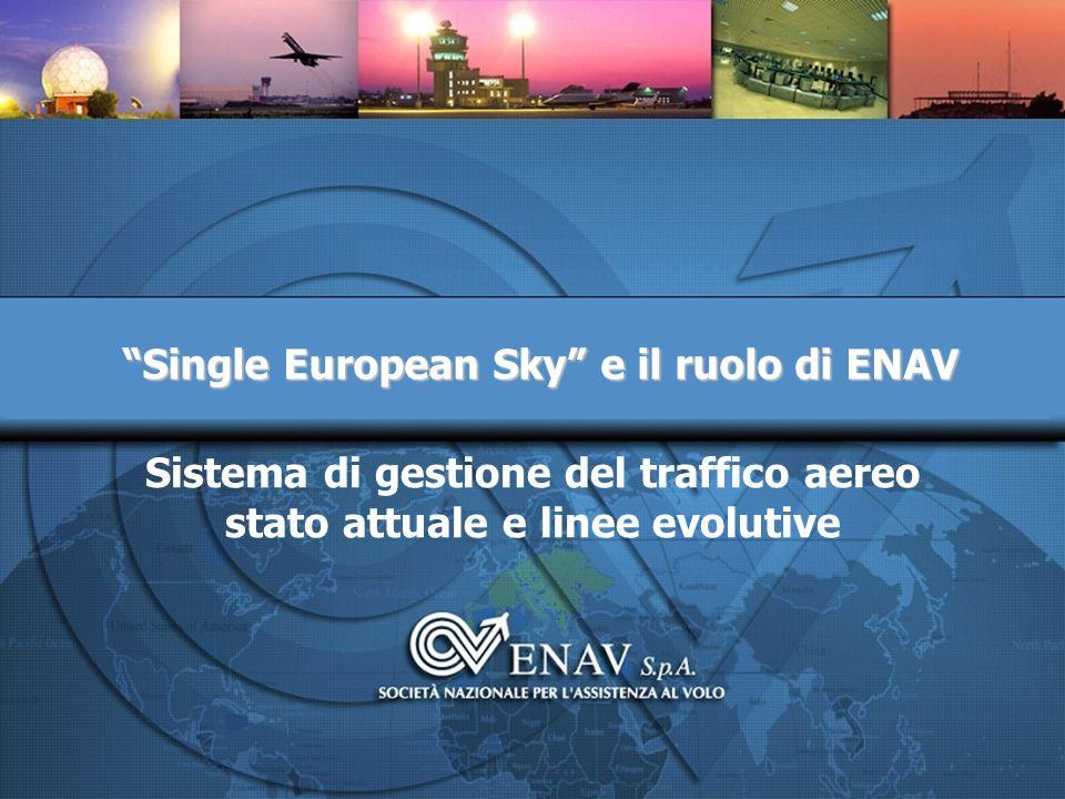 Sistema di gestione del traffico aereo stato attuale e linee evolutive