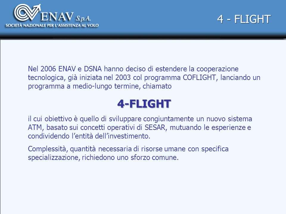 4 - FLIGHT