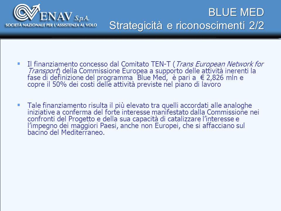 BLUE MED Strategicità e riconoscimenti 2/2