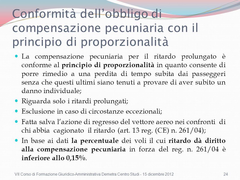 Compatibilità con la Convenzione di Montreal (2)