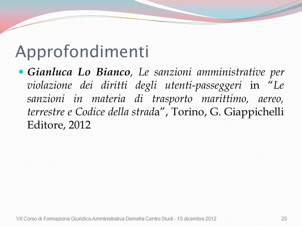 Conformità dell'obbligo di compensazione pecuniaria con il principio di proporzionalità