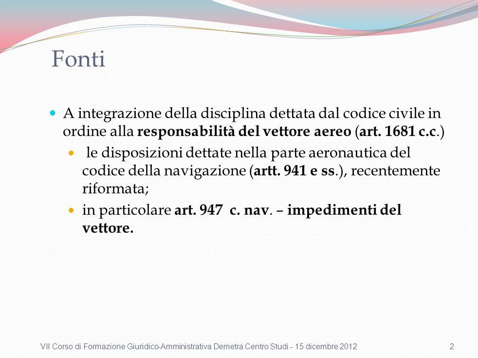 Il Reg. (CE) n. 261/2004