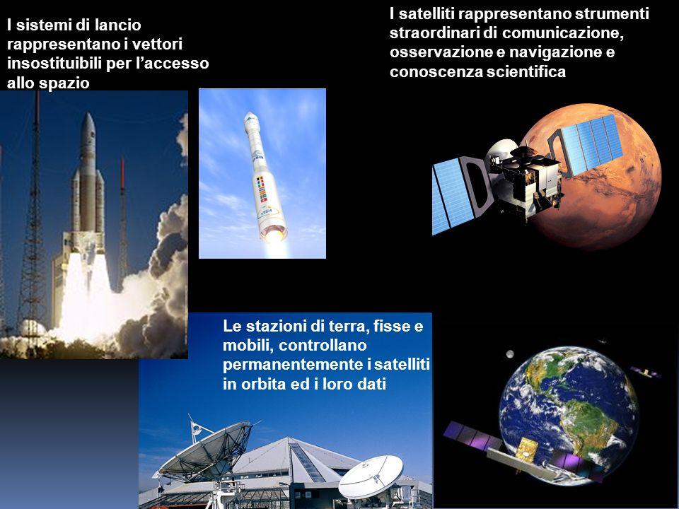 I satelliti rappresentano strumenti straordinari di comunicazione, osservazione e navigazione e conoscenza scientifica