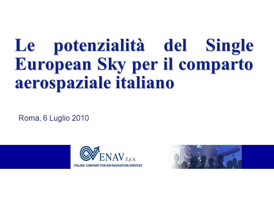 Le potenzialità del Single European Sky per il comparto aerospaziale italiano