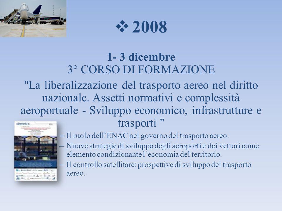 1- 3 dicembre 3° CORSO DI FORMAZIONE