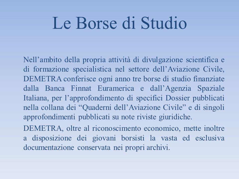 Le Borse di Studio