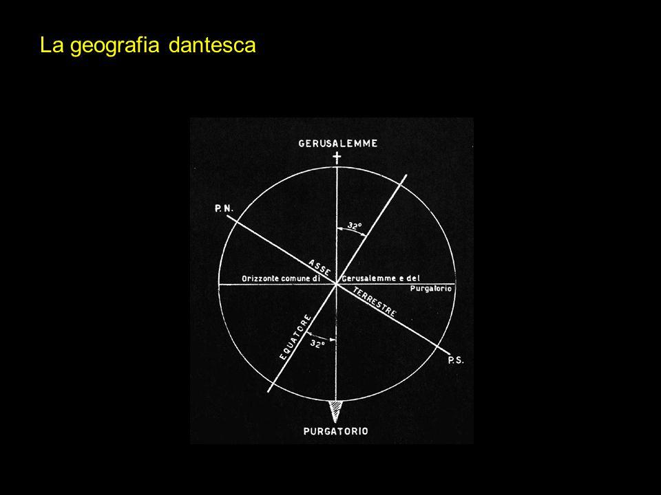 La geografia dantesca