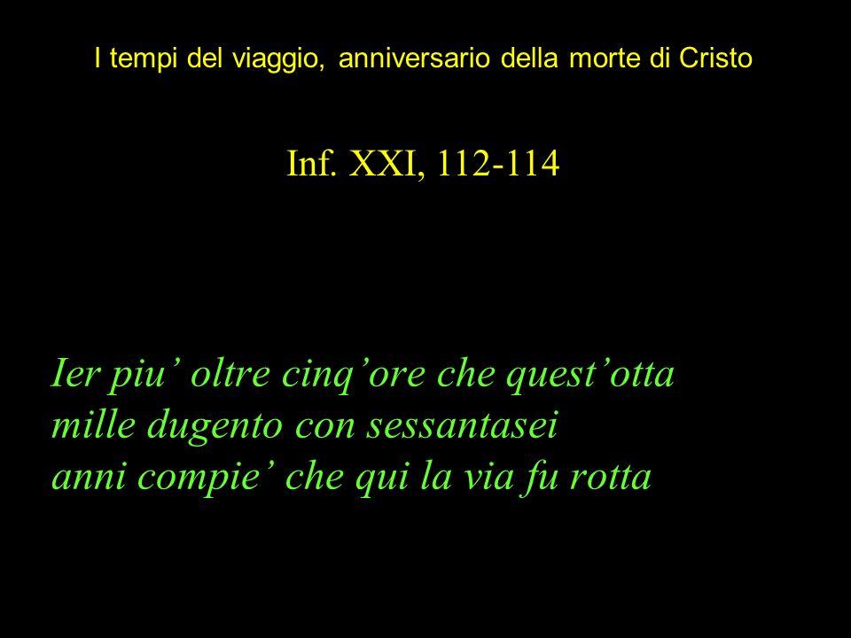 I tempi del viaggio, anniversario della morte di Cristo