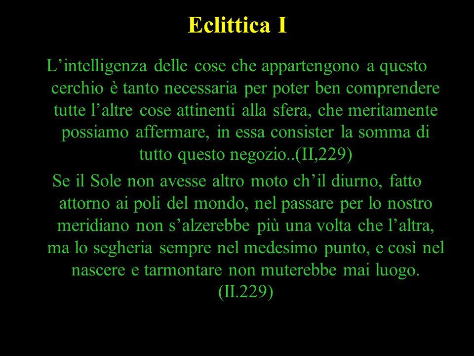 Eclittica I