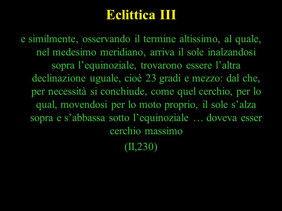Eclittica III