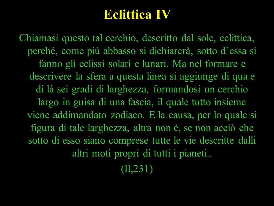 Eclittica IV