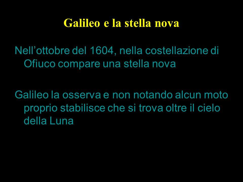 Galileo e la stella nova