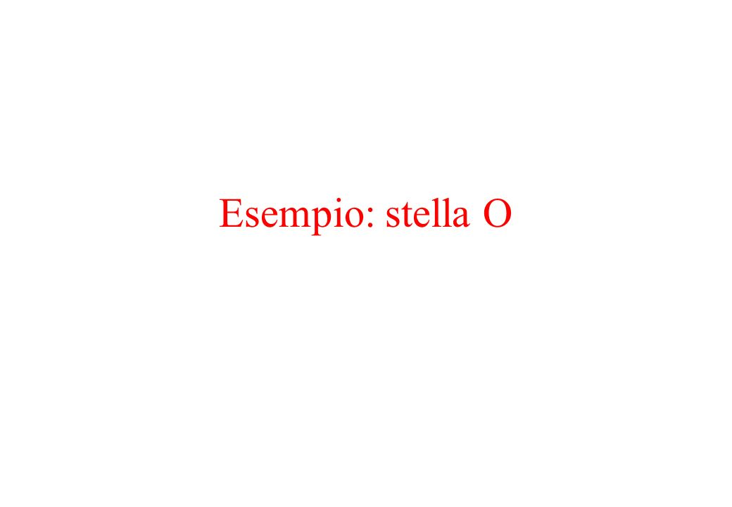 Esempio: stella O