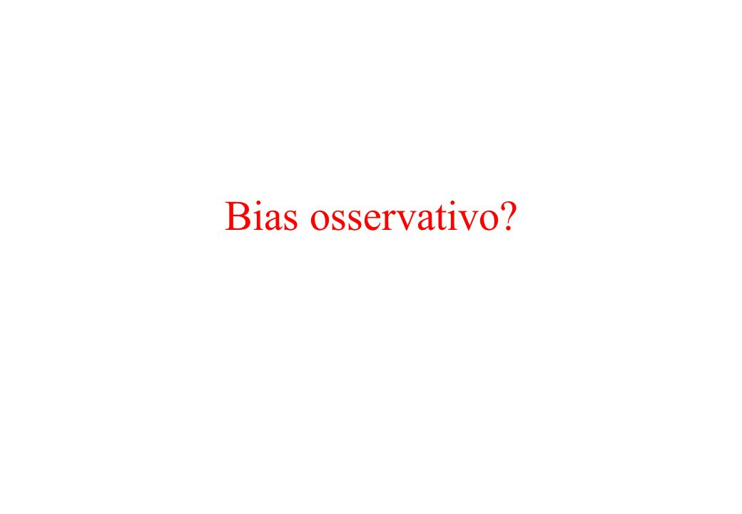 Bias osservativo