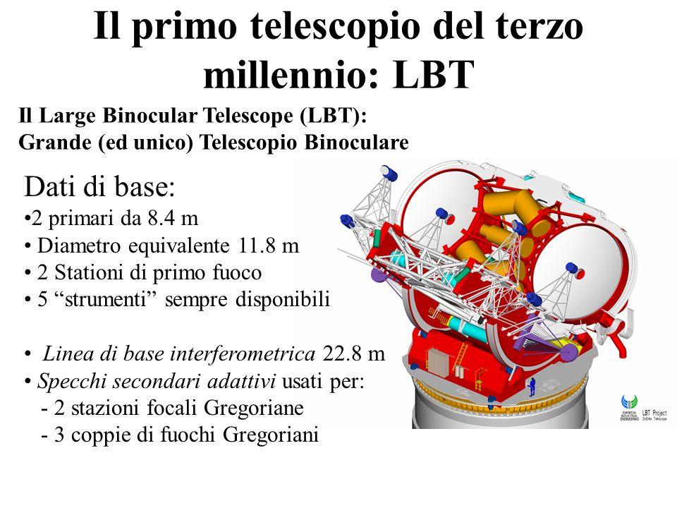 Il primo telescopio del terzo millennio: LBT