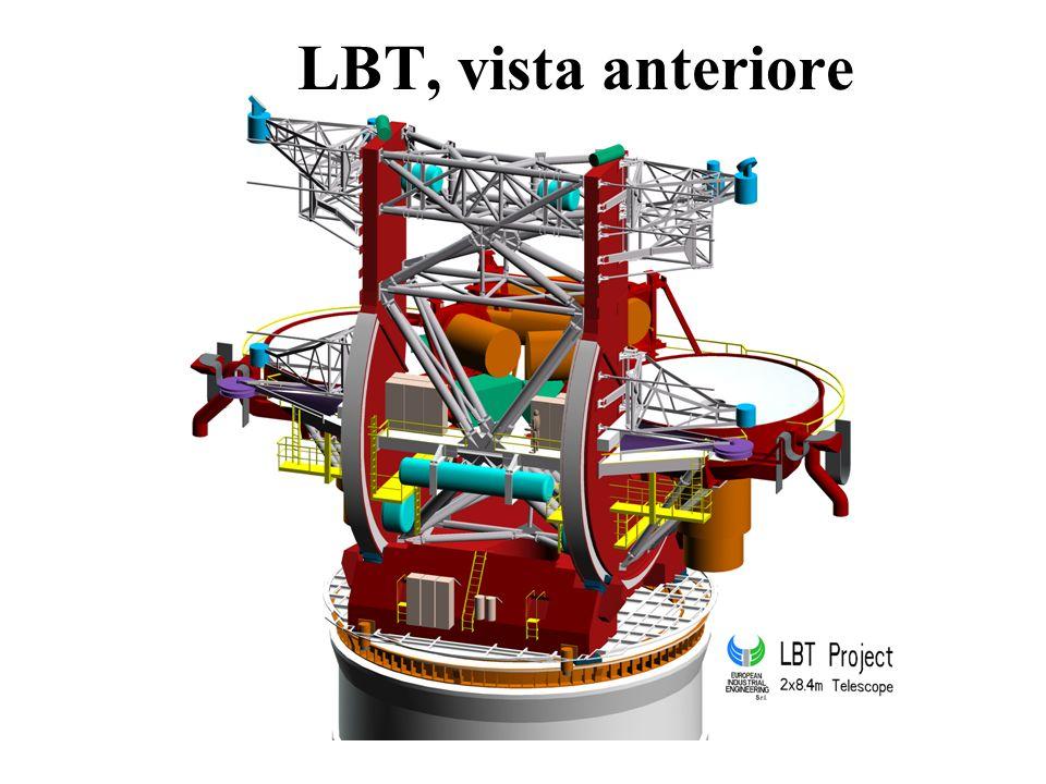 LBT, vista anteriore