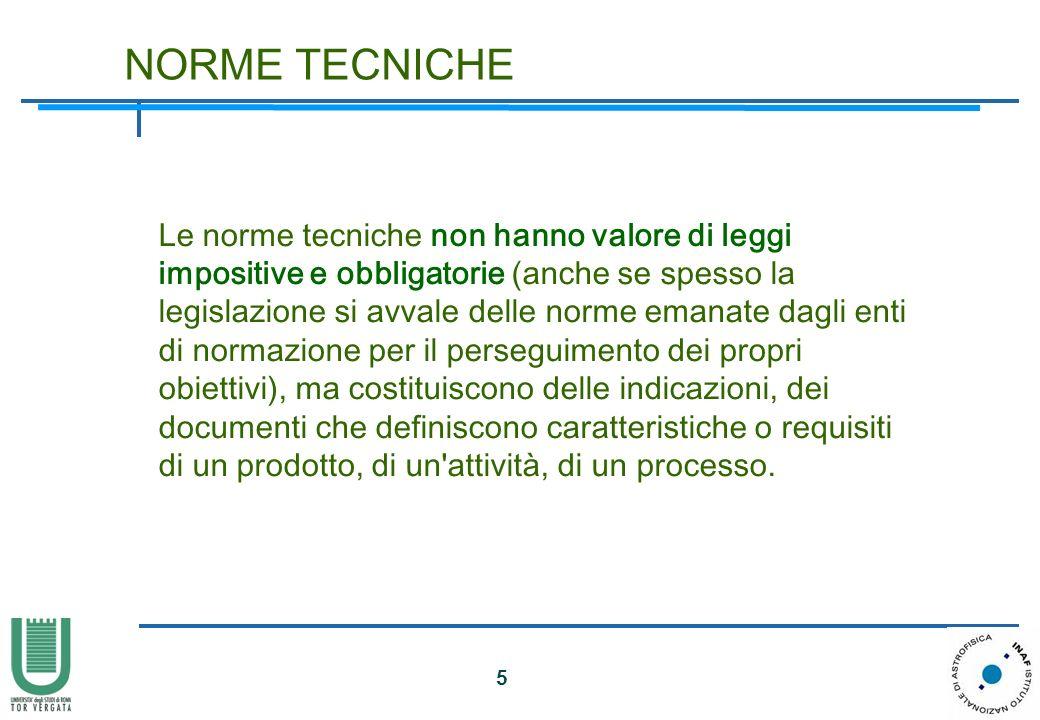 NORME TECNICHE