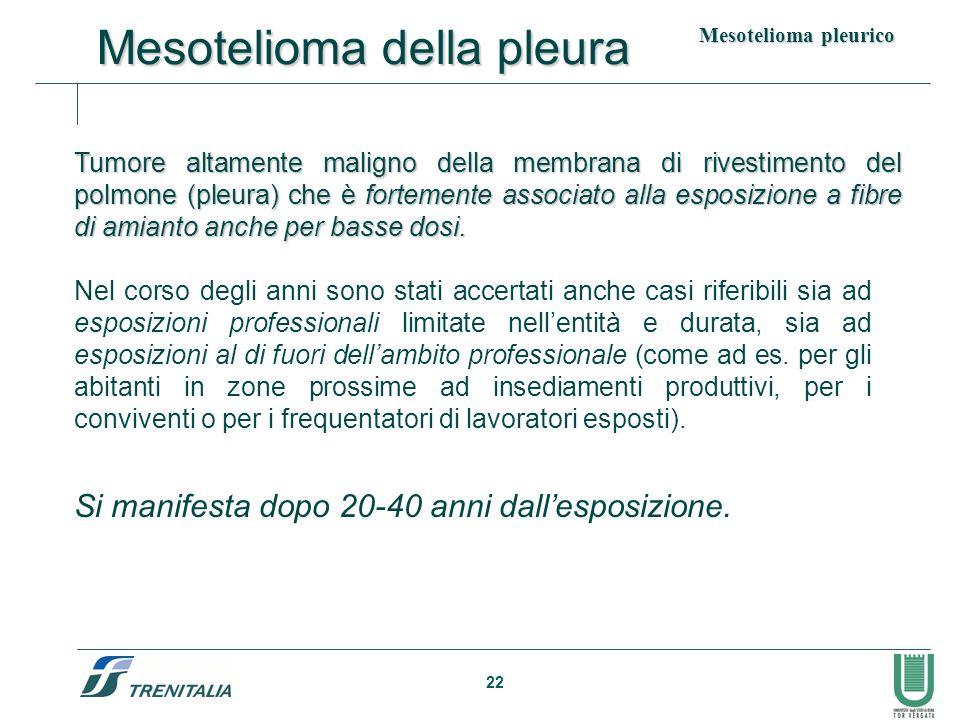 Mesotelioma della pleura