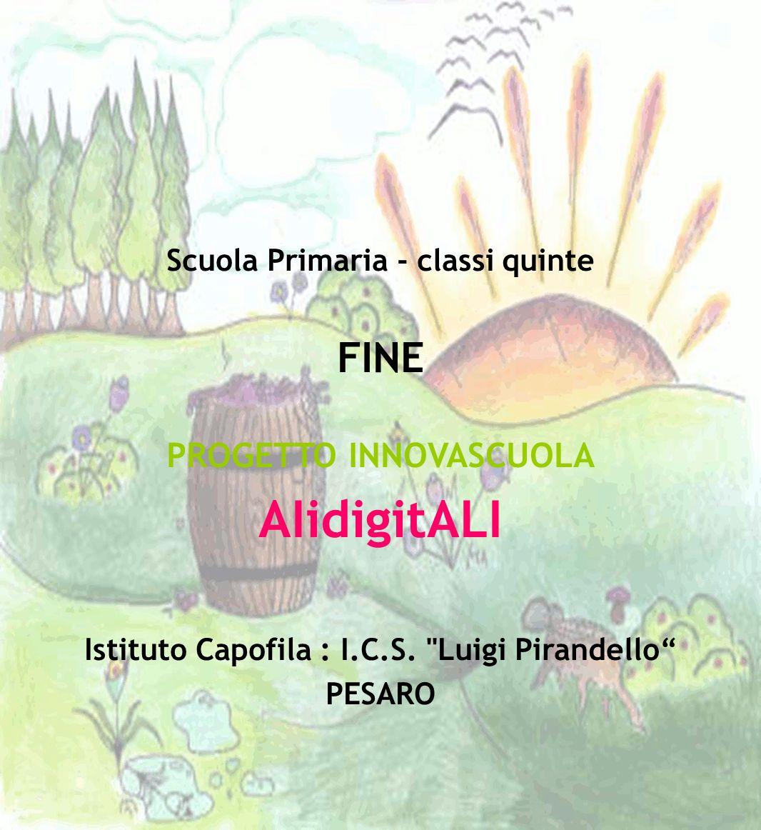 AIidigitALI FINE PROGETTO INNOVASCUOLA Scuola Primaria - classi quinte
