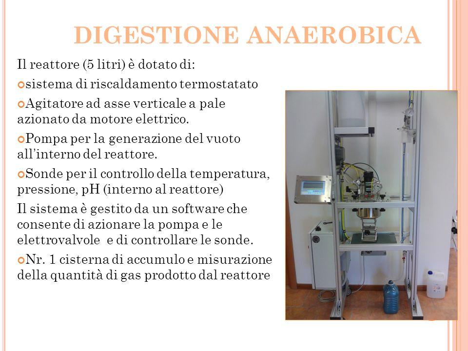 DIGESTIONE ANAEROBICA
