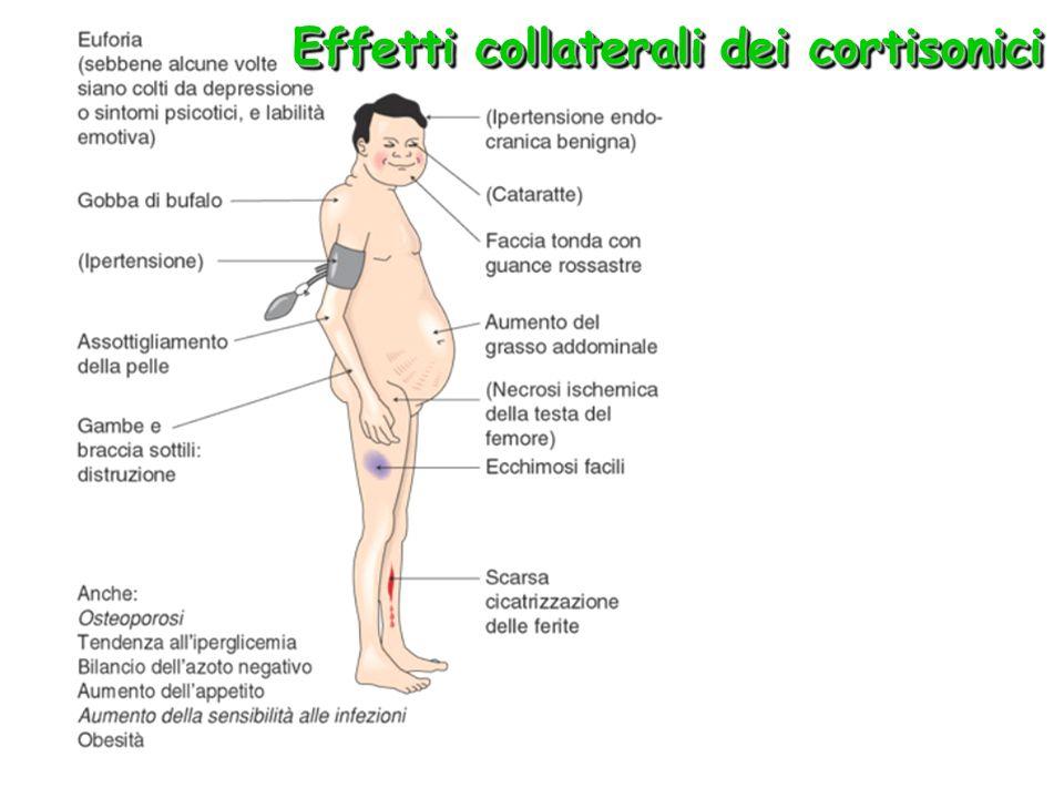 Effetti collaterali dei cortisonici