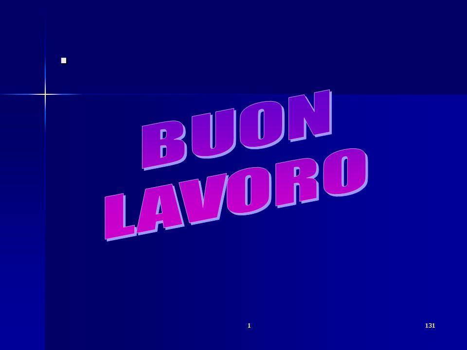 . BUON LAVORO 1