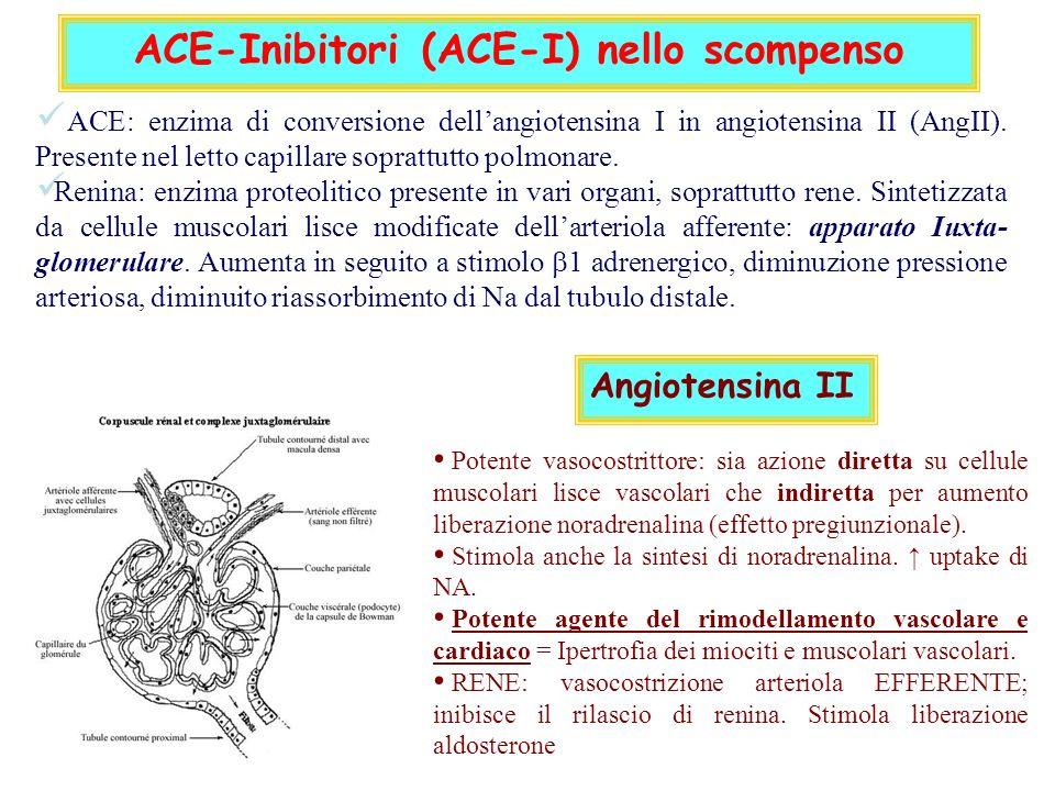 ACE-Inibitori (ACE-I) nello scompenso