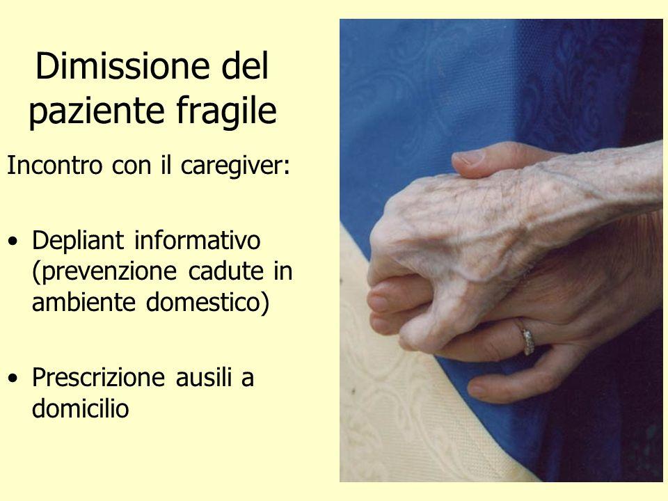 Dimissione del paziente fragile