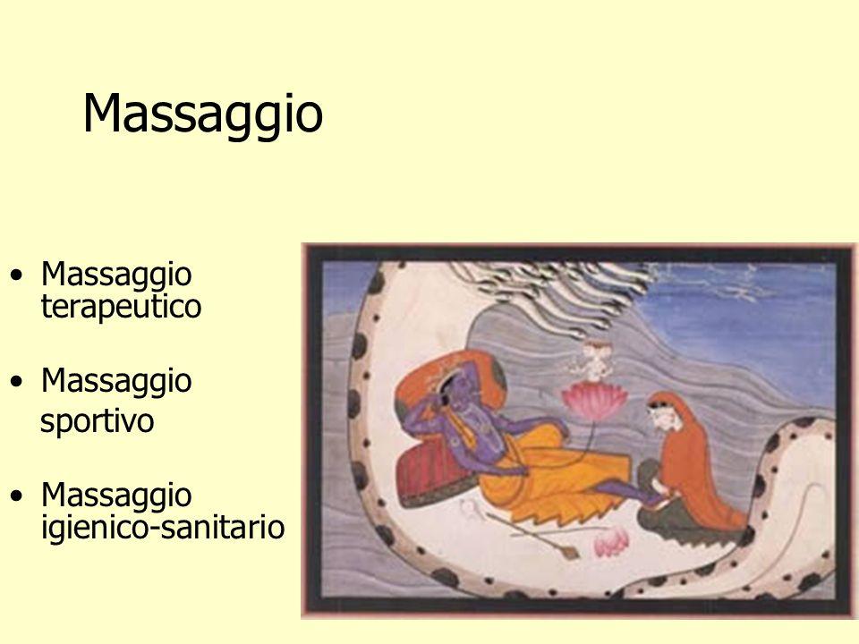 Massaggio Massaggio terapeutico Massaggio sportivo