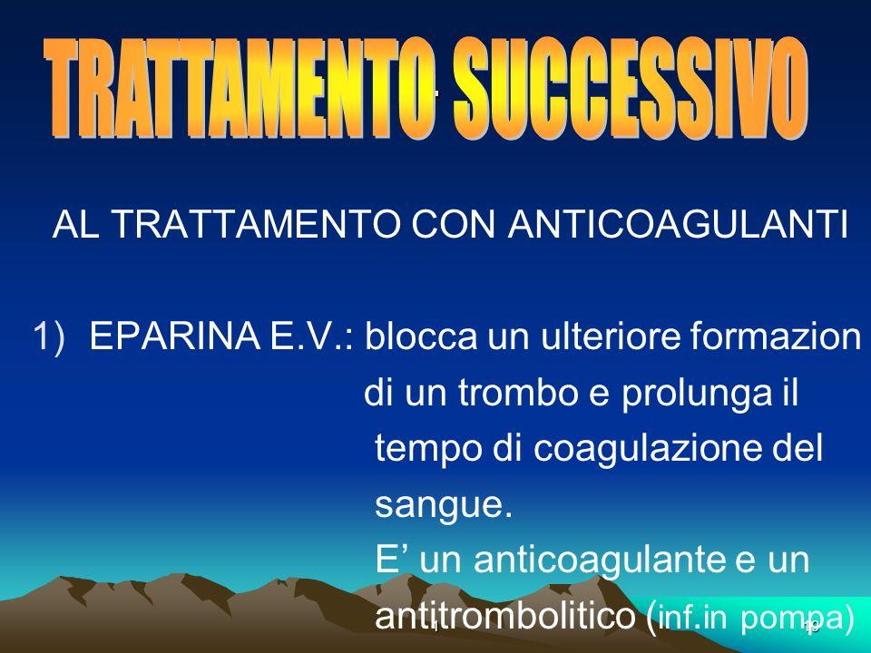 TRATTAMENTO SUCCESSIVO