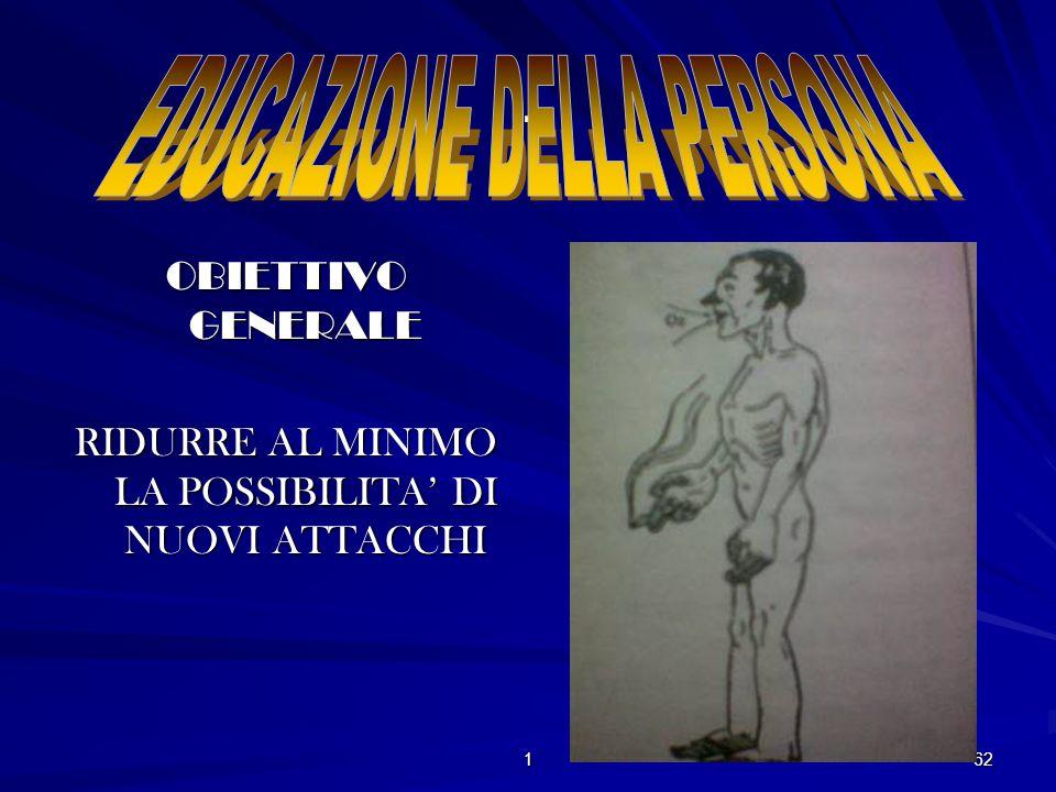 . EDUCAZIONE DELLA PERSONA OBIETTIVO GENERALE